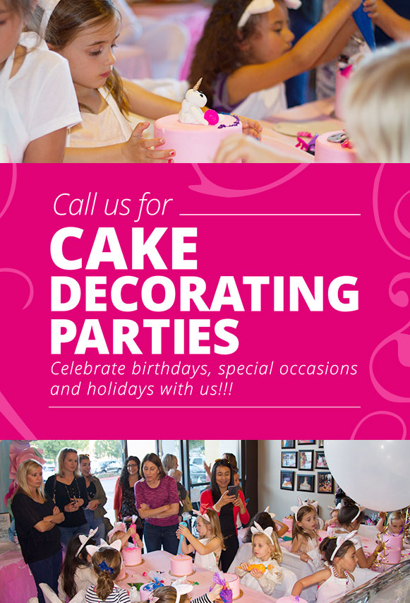 Cake Decorating Parties
